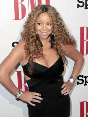 Mariah Carey at the BMI Urban Awards