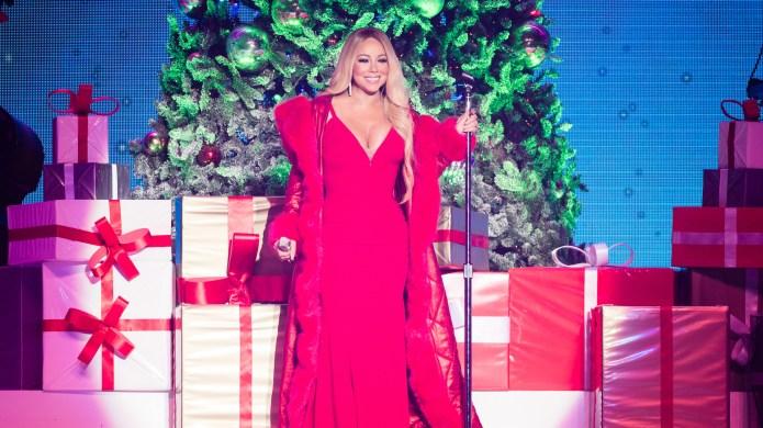 Mariah Carey performs in Nottingham, England