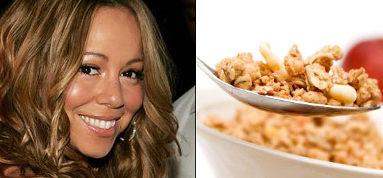 Pregnant Mariah Carey is craving cereal