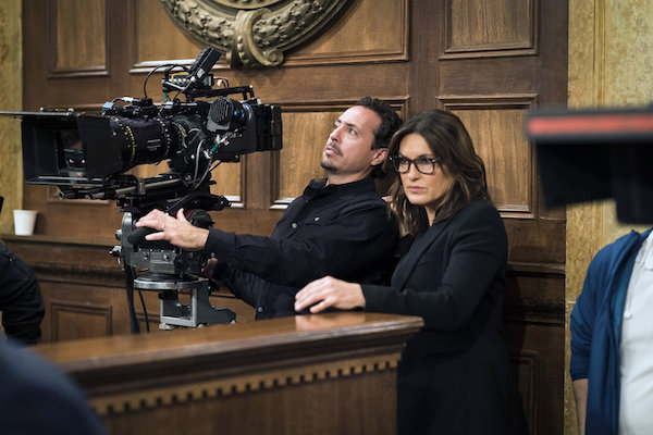 Law & Order SVU: Mariska Hargitay Directs