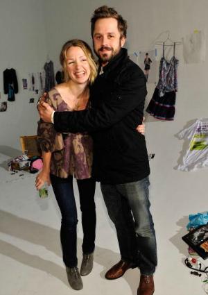 Giovanni Ribisi and his sister Marissa