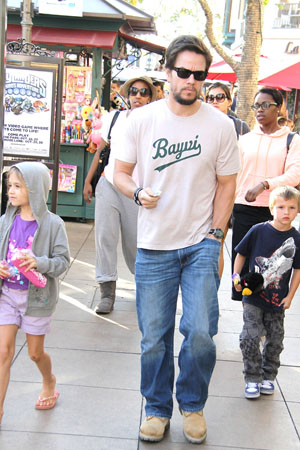 Mark Wahlberg and his children