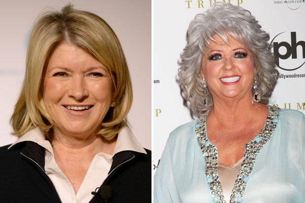 Martha Stewart and Paula Deen