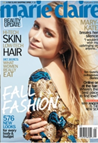 Mary-Kate Olsen Marie Claire cover