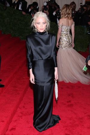 Mary-Kate Olsen at the Met Gala.