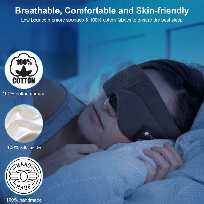 Gifts for better sleep | Bluetooth Sleeping Eye Mask