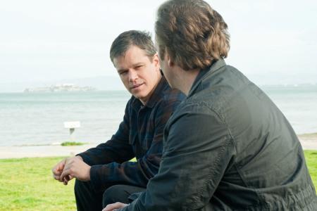 Matt Damon in Hereafter