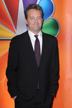 Matthew Perry returns to NBC with Go On