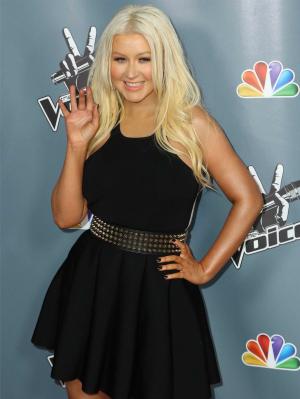 Christina Aguilera in 2013