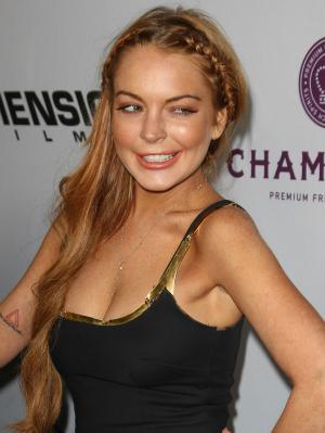 Lindsay Lohan in 2013