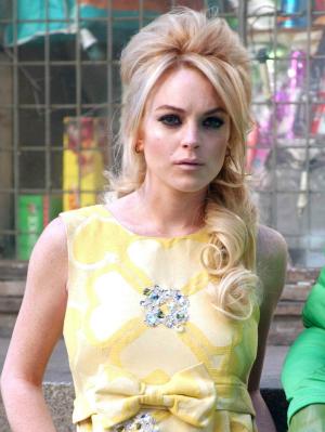 Lindsay Lohan in 2007