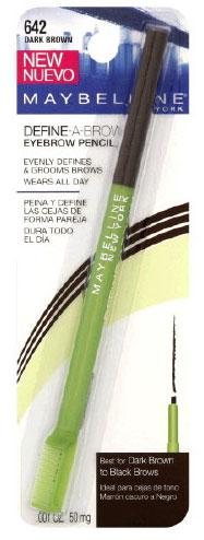 maybelline define a brow eyebrow pencil