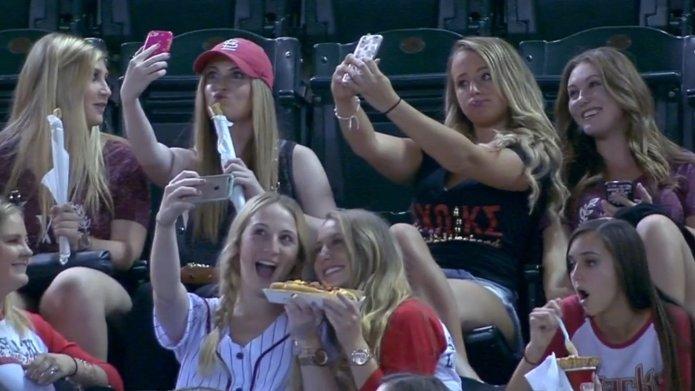 MLB announcers shame sorority girls for