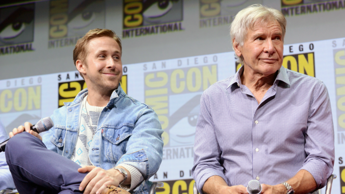 Harrison Ford Punched Ryan Gosling in