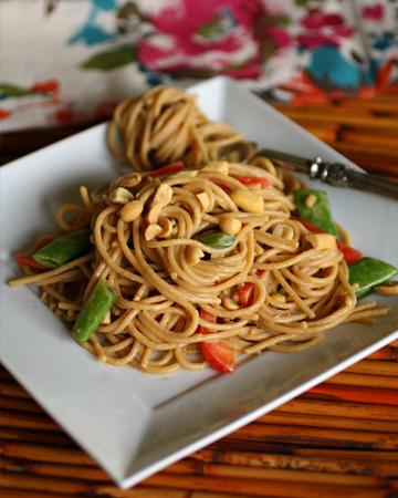 Meatless Monday: Cold sesame-peanut noodle salad