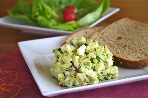 Meatless Monday -- Egg salad