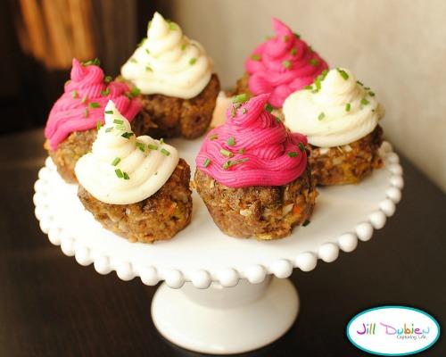 Meatloaf cupcake - April Fool's lunch gag
