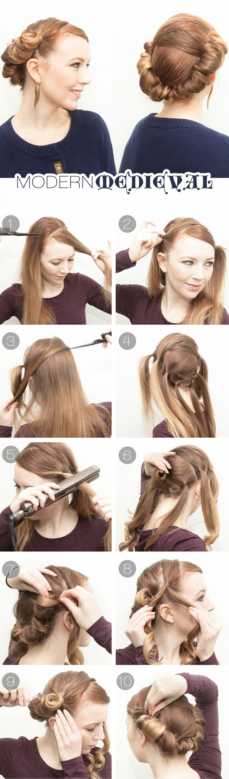 9 Genius Hairstyles You Can Do With A Flat Iron Sheknows