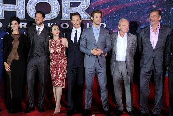 Cast of Thor: The Dark World