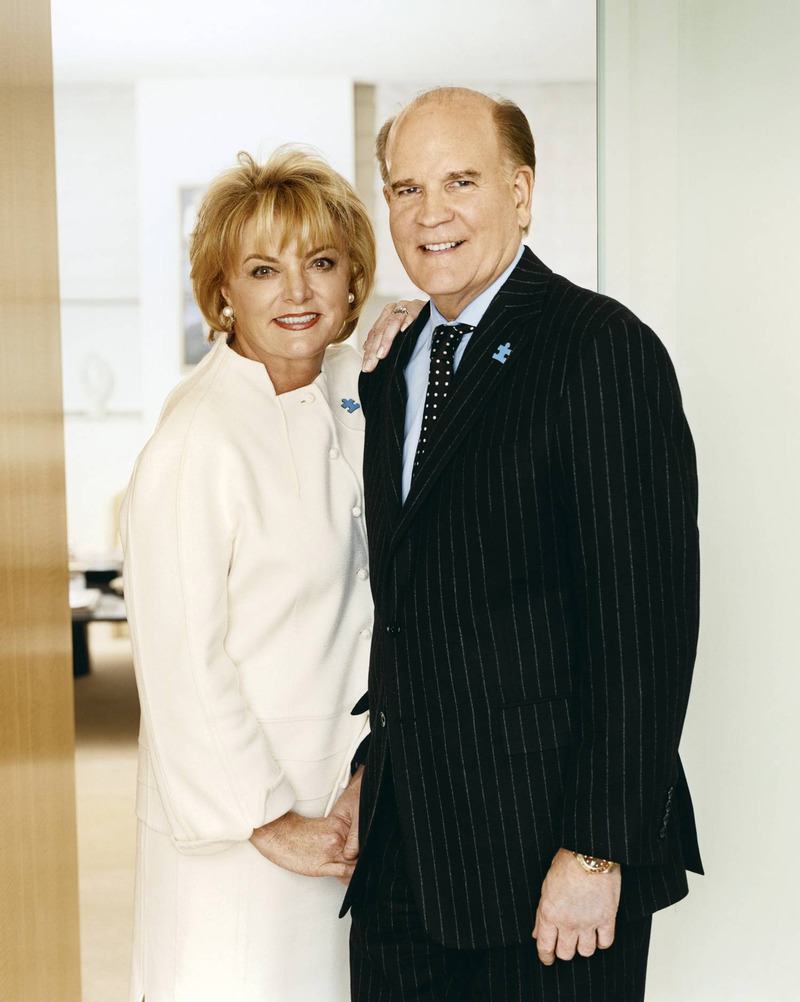 Autism Speaks founders Bob and Susan Wright