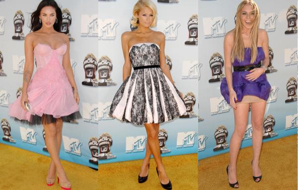 Megan Fox - Paris Hilton - Lindsay Lohan