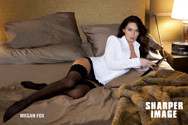 Megan Fox is the new face of Sharper Image