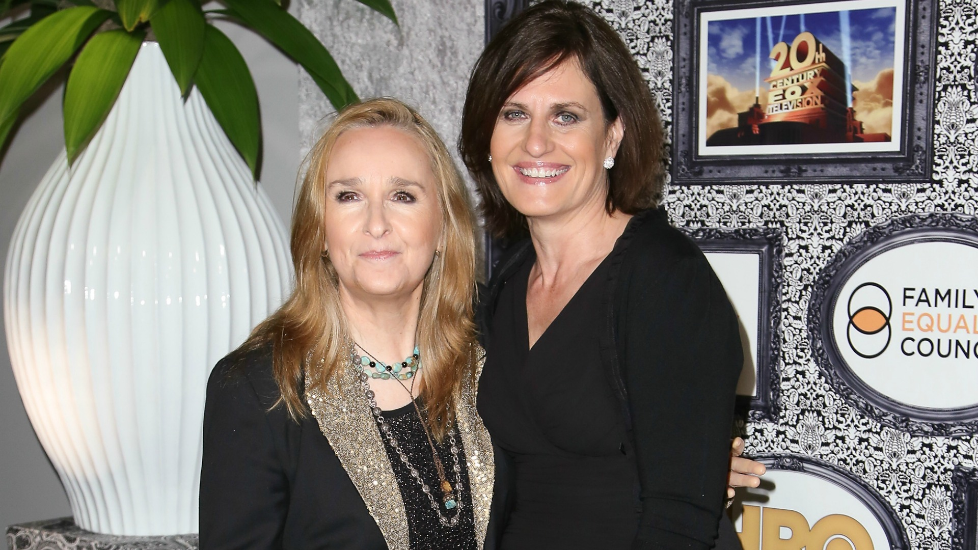 Melissa Etheridge and Linda Wallem are married