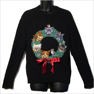 Merry Catsmas sweater   Sheknows.ca