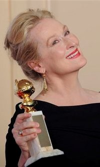 Meryl Streep wins