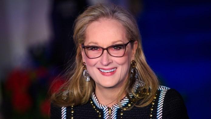 Meryl Streep attends the European premiere