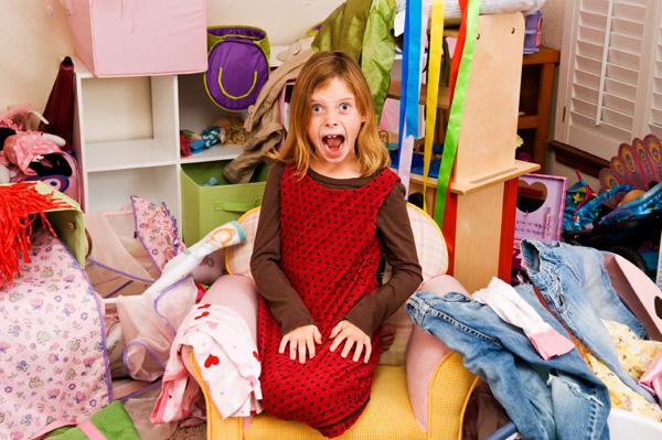 Messy Girl's Room