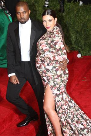 Kim Kardashian at the Met Gala