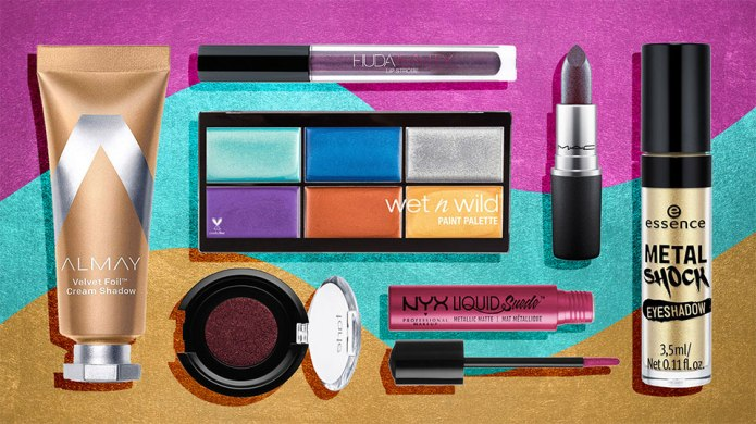 Metallic Beauty Products Under $20 for