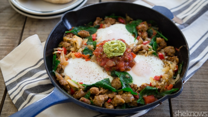 Easy Mexican breakfast hash will spice