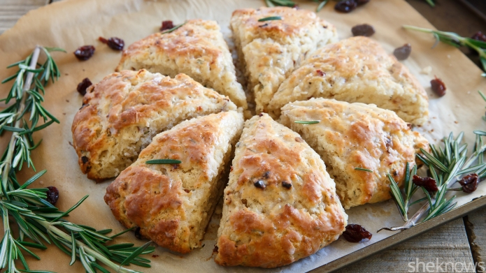 Make-ahead cranberry scones that are ready