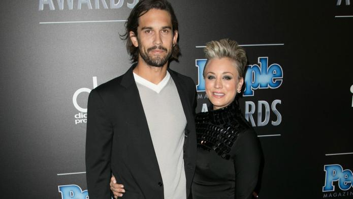 Kaley Cuoco and Ryan Sweeting are