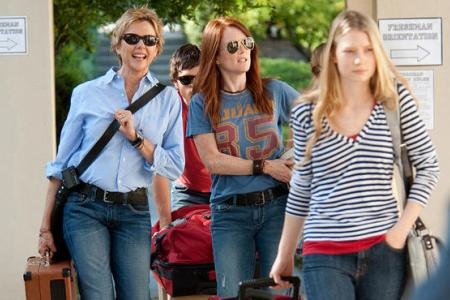 Mia Wasikowska heads to college away from moms Annette Bening and Julianne Moore