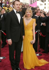 Michelle Williams and Heath Ledger at the 2006 Oscars