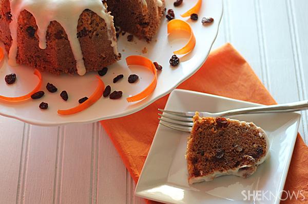 microwave no bake carrot cake