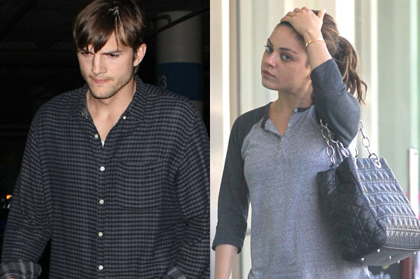 Mila Kunis and Ashton Kutcher spend the weekend together