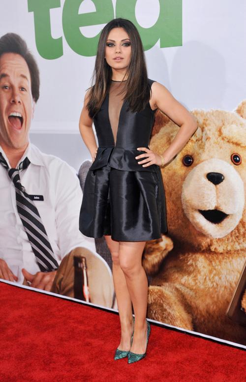 Mila Kunis at Ted premiere