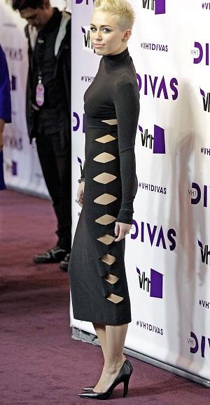 Miley Cyrus at VH1's Divas