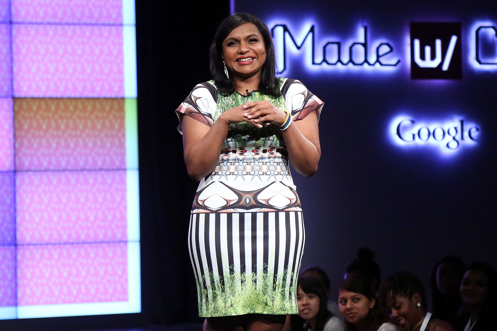 Mindy Kaling at Made with Code event