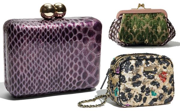 mini clutch handbag purse