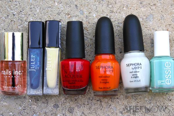 nail polish used