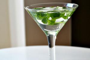 Mini Julep Martini