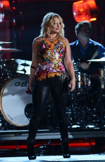 Miranda Lambert - Worst Dressed - 2012 CMA Awards