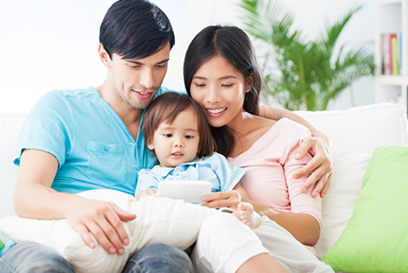 Mixed race parents with child   Sheknows.com
