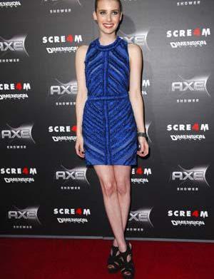 Emma Roberts: Having small boobs is