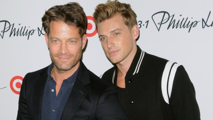 Nate Berkus and his husband welcome